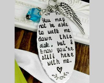 Wedding Bouquet Memorial Charm - Bridal Bouquet Charm - Something Blue Charm - Bridal Shower Gift - Bouquet Charms Wedding - Bouquet Jewelry