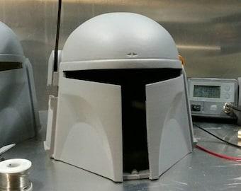 Jango Fett Style Mandalorian Helmet (The Drop Bear) - built-in 2 speed cooling - Armor Full Adult Size