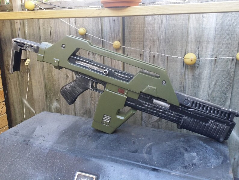 DIY M41a Pulse Rifle from Aliens image 0