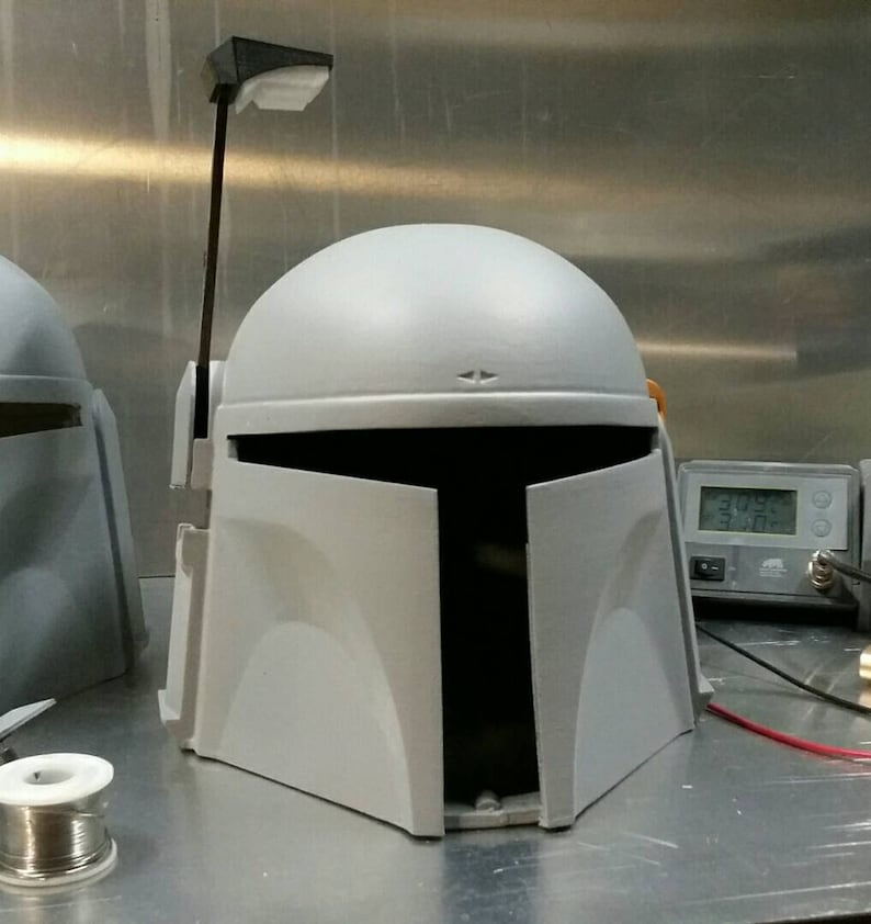 Jango Fett Style Mandalorian Helmet The Drop Bear  built-in image 0