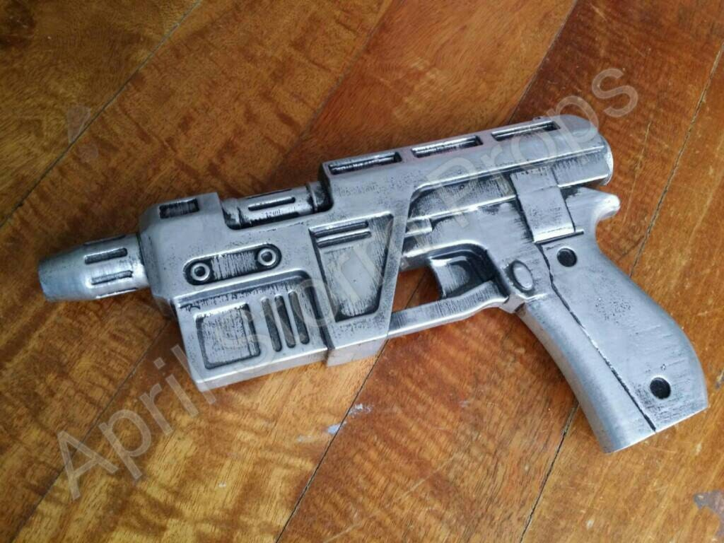 Poe Dameron's Blaster from Star Wars The Force Awakens
