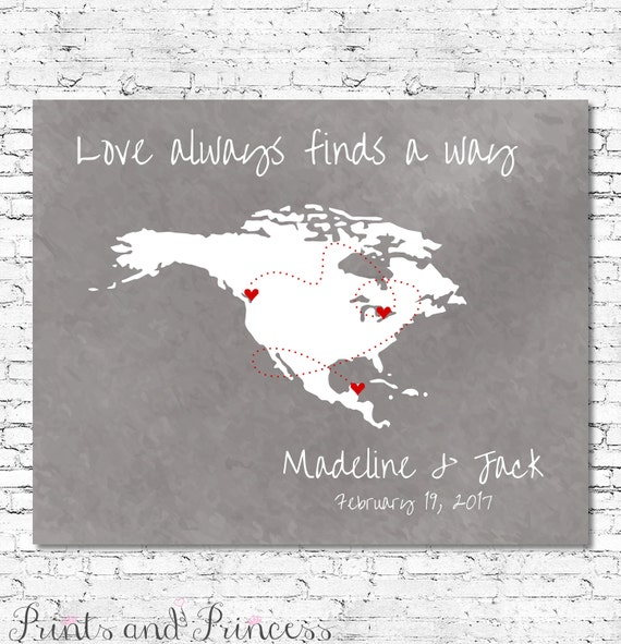 9835b9a987cf0 CUSTOMISED WORLD MAP Single Country Love Always Finds A Way