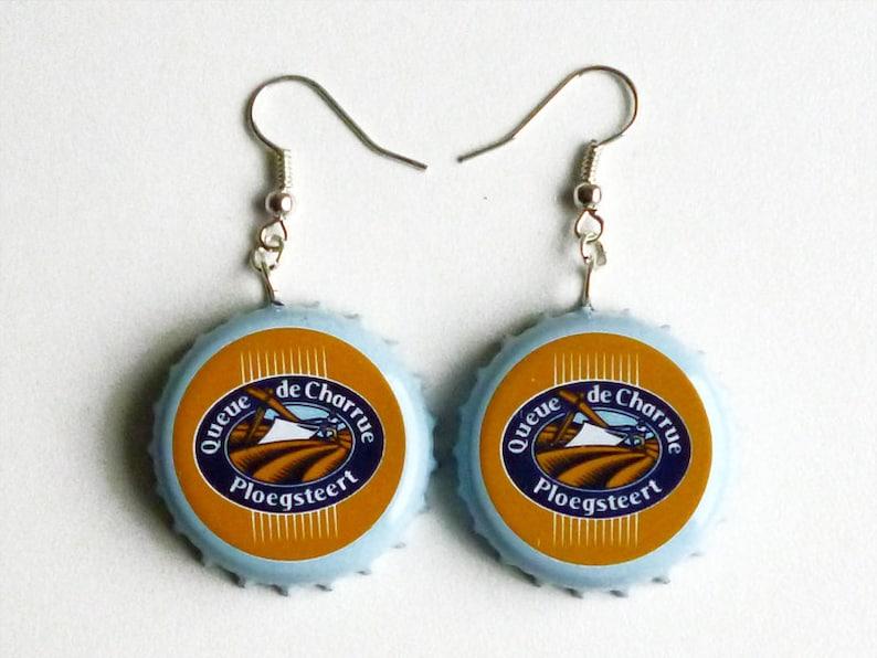 Earrings capsules Charrue image 0