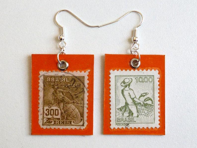 Earrings Brésil image 0