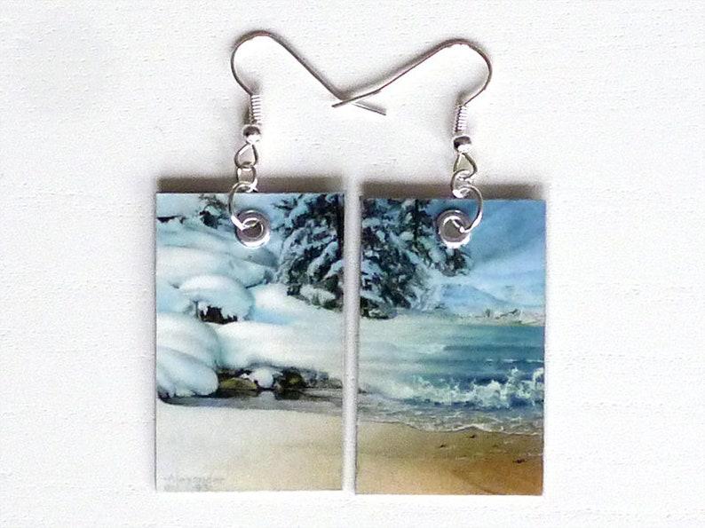 Earrings Île glaciaire image 0