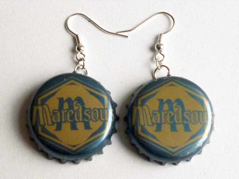 Earrings capsules Nappe phréatique 2 image 0