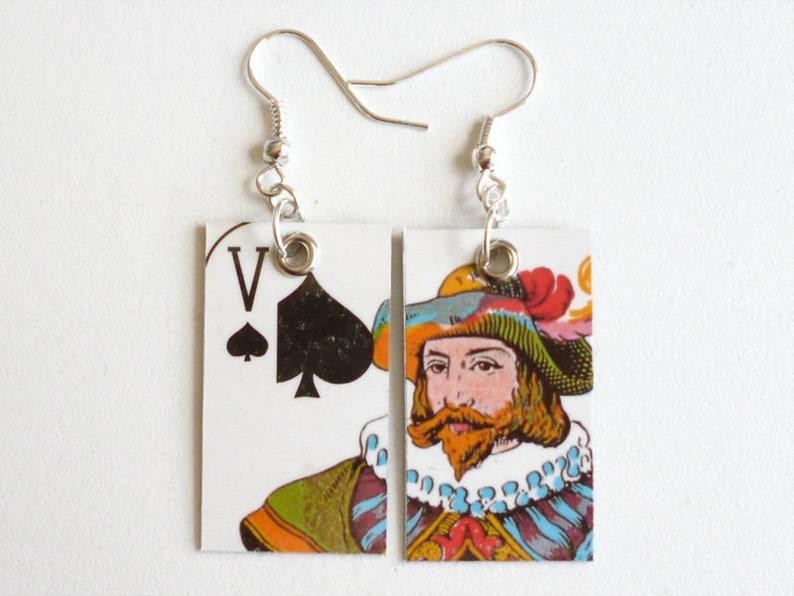 Earrings Valet de pique image 0