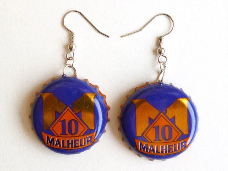 Earrings capsules Bière d'horreur  Malheur  image 0