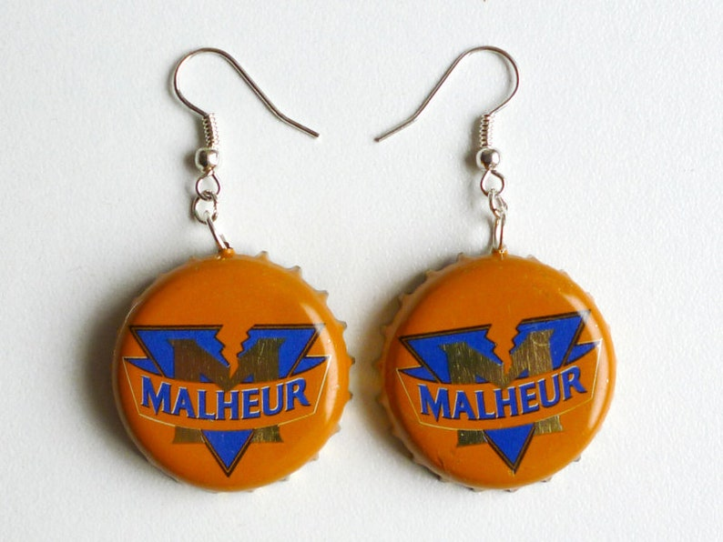 Earrings capsules Bière de malheur  image 0