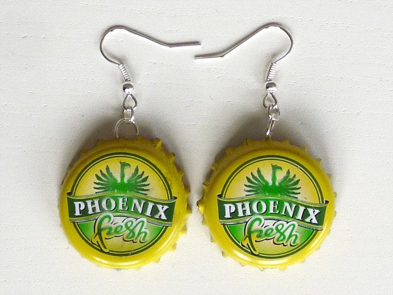 Earrings capsules Phoenix fresh image 0