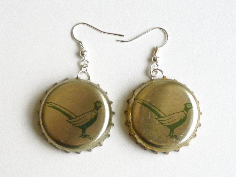 Earrings capsules Faisan image 0