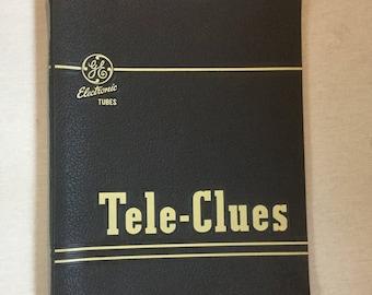 Vintage ge general electric manual tube book Tele-Clues