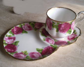 tea and or coffee and cake  plate and cup  VINTAGE SALE PRICE