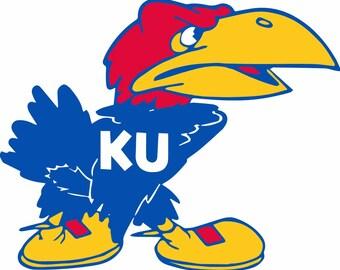 1941 Kansas Jayhawk SVG & .ai files. KU / Vintage KU / rcjh / mascot / University of Kansas