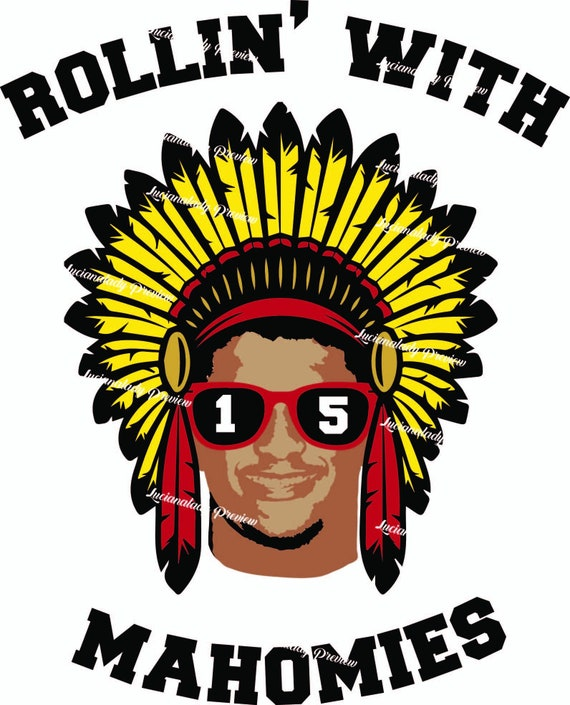 Rollin With Mahomies Svg Kansas City Chiefs Svg File Etsy