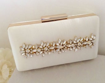 3626a8fa9ab0 OPAL Bridal Clutch Bag