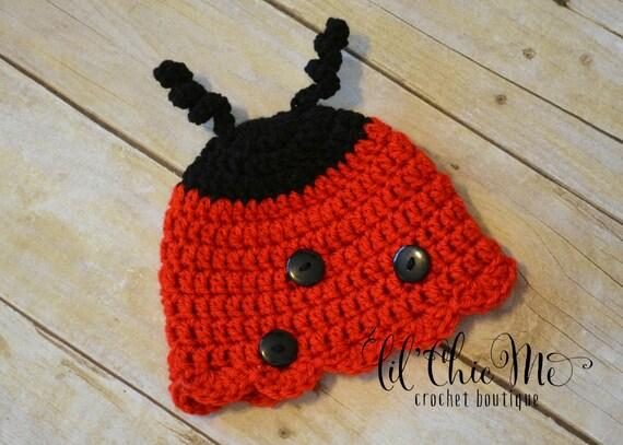 READY TO SHIPNewborn Ladybug HatPhoto Prop Baby Gift  983195679368