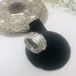 Silver Ring   Vintage Spoon Ring   Danish Princess