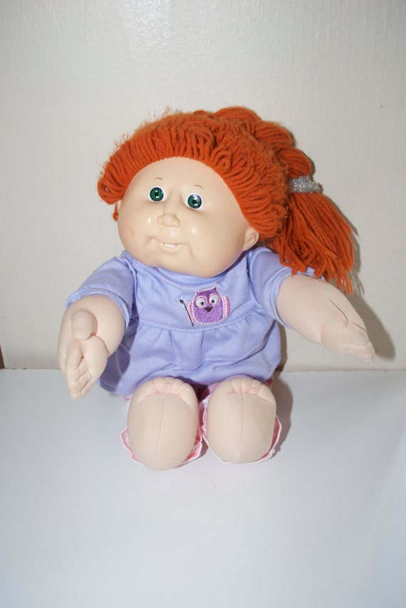 Cabbage Patch Kid Vintage Doll Red Hair Green Eyes With Teeth Etsy,Potato Bread