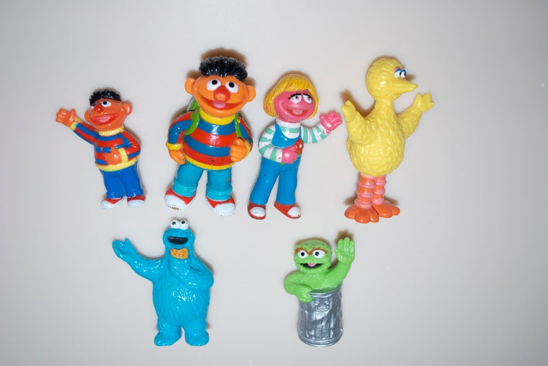 Choose One Sesame Street Jhp Figures Ernie Prairie Dawn Big Bird Cookie Monster