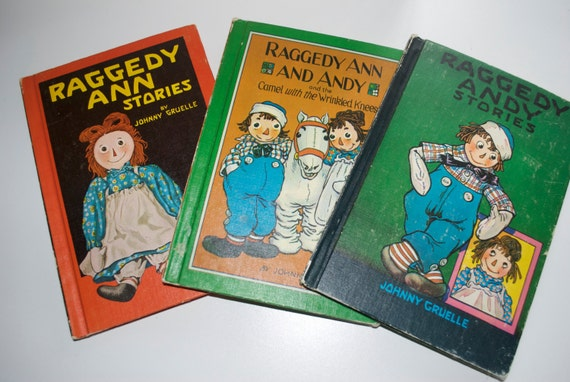 Raggedy Ann Andy Stories Set Of Books 1947 1948 1951 By Etsy