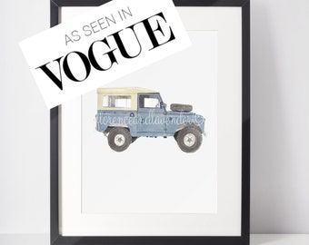 Range Rover Vogue A4 JIGSAW Puzzle Birthday Christmas Gift Can Be Personalised