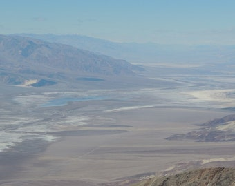 Salt flats in death valley with John 3:17 (8x10)