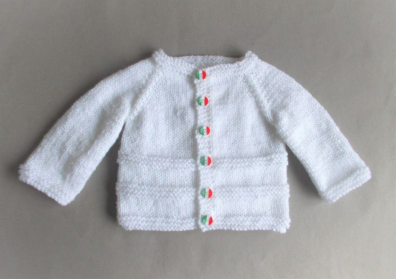 40dc31866 Roma Baby Cardigan Jacket Knitting Pattern