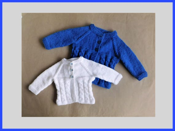 8385cd67fdef FREDDIE Cabled Baby Cardigan Jacket Knitting Pattern
