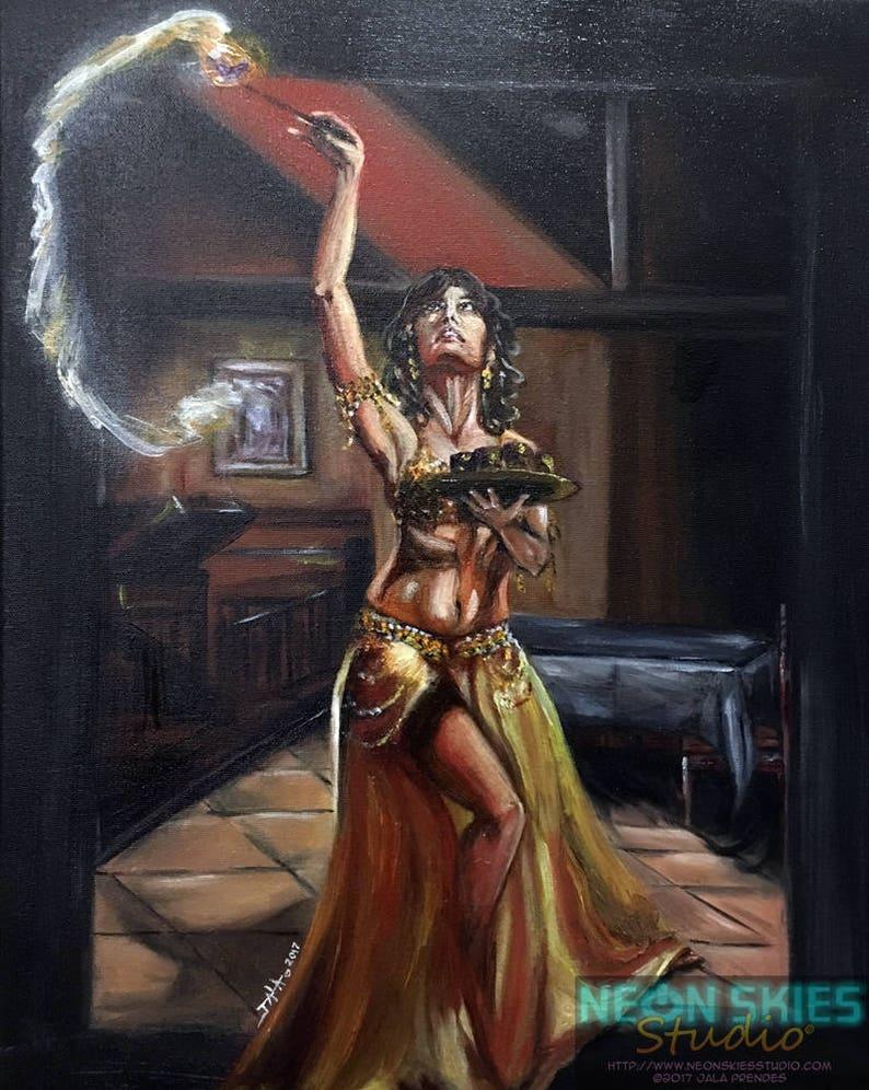 Sahira  Original Oil Painting image 0