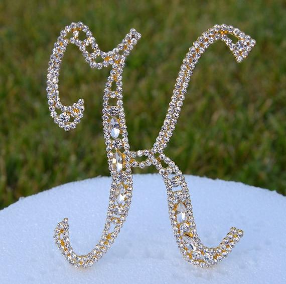 ad95195de1 Grandes 5 cristal Rhinestone pastel oro Topper