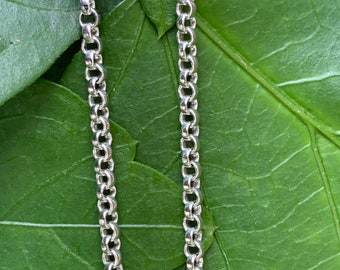 Chopard  Thin Chain, Chopard White Gold Chain, Chopard Necklace, Thin White Gold Chain, Thin Gold Chain