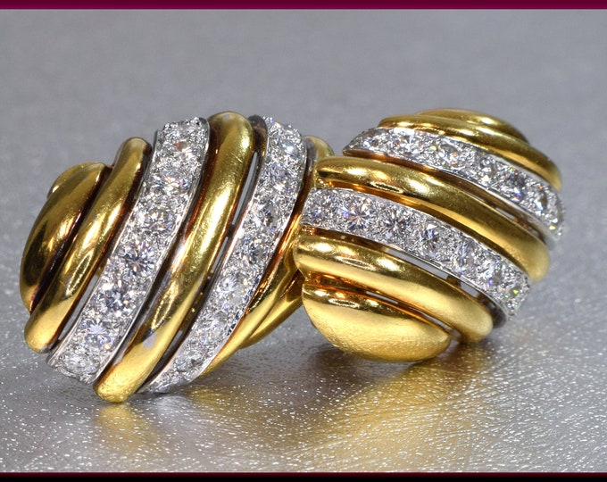 Diamond Earrings, Gold Earrings, Vintage Earrings, Bridal Earrings, Stud Earrings, Diamond Stud Earrings, Wedding Jewelry