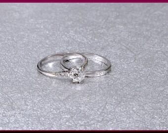 Art Deco Diamond Ring, Deco Engagement Ring, Art Deco Wedding Ring