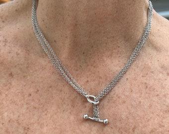 Tiffany & Co Toggle Pendant, Tiffany and Co Gold Pendant,Toggle Pendant