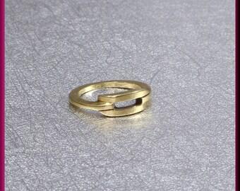 Barry Kieselstein Cord Gold Ring,  Kieselstein Cord Gold Band, Kieselstein Cord Vintage Ring