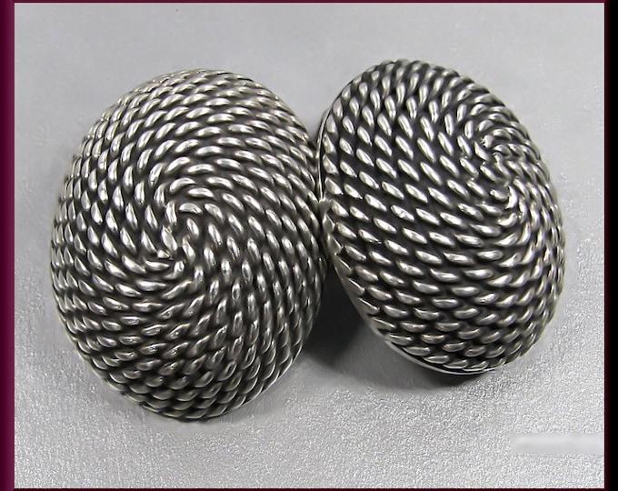 Sterling Silver Vintage Earrings