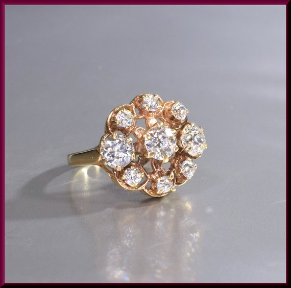 Victorian Ring  Victorian Engagement Ring Antique… - image 1