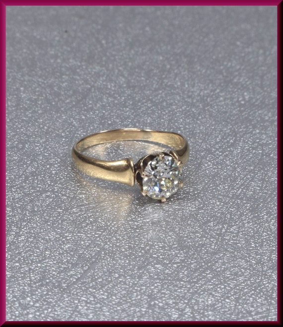 Victorian Engagement Ring Alternative Engagement … - image 1