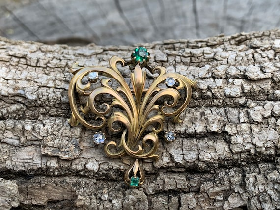 Victorian Art Nouveau Sterling Silver Cufflinks Marked Sterling