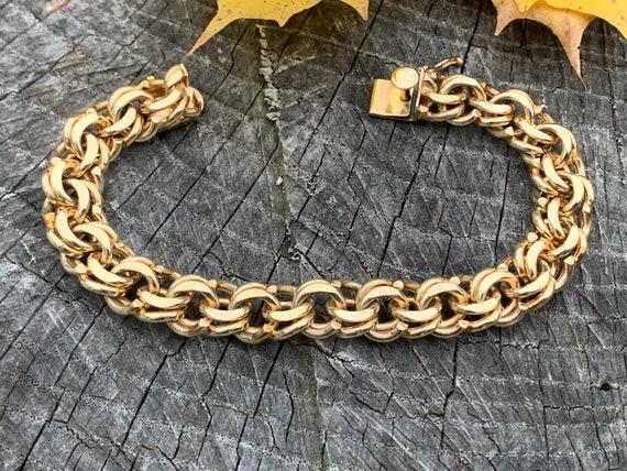 Tiffany Wide Bracelet, Tiffany Gold Bracelet, Wide