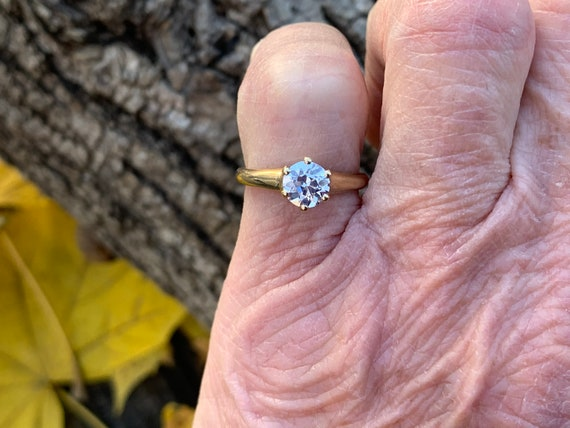 Victorian Engagement Ring, Alternative Engagement… - image 9