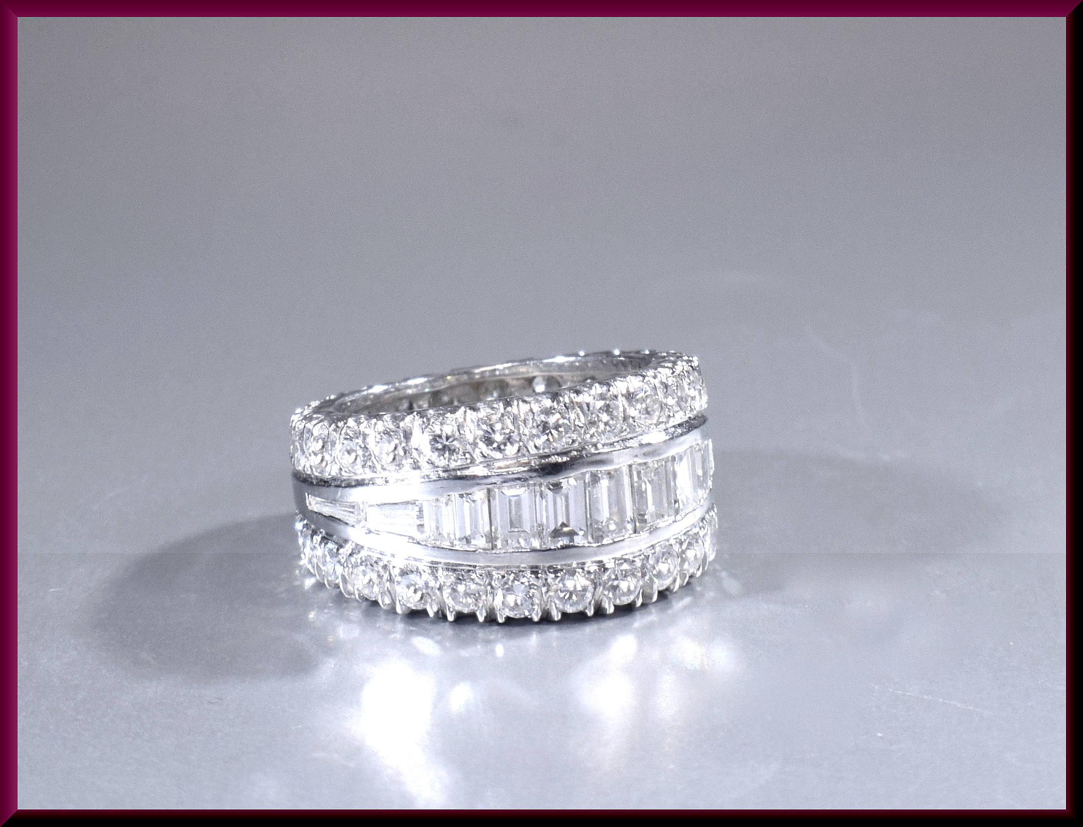 band inc pave bands rings diamonds size wedding vs full diamond