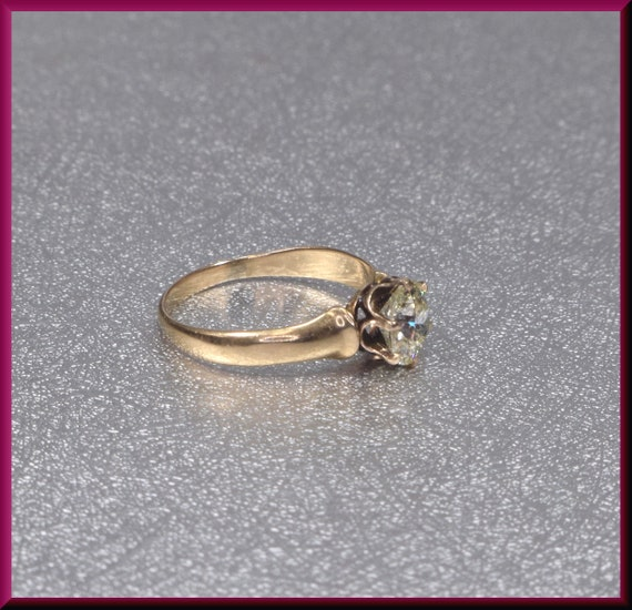 Victorian Engagement Ring Alternative Engagement … - image 3