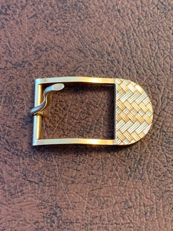 Tiffany & Co Belt Buckle, Yellow gold Belt Buckle - image 6