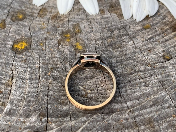 Victorian Diamond Engagement Ring,  Antique Engag… - image 7