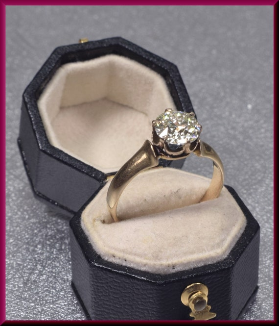 Victorian Engagement Ring Alternative Engagement … - image 4