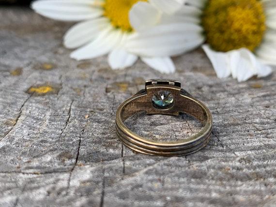 Victorian Diamond Engagement Ring,  Antique Engag… - image 4