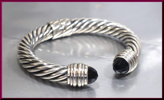 bracelet argent david yurman