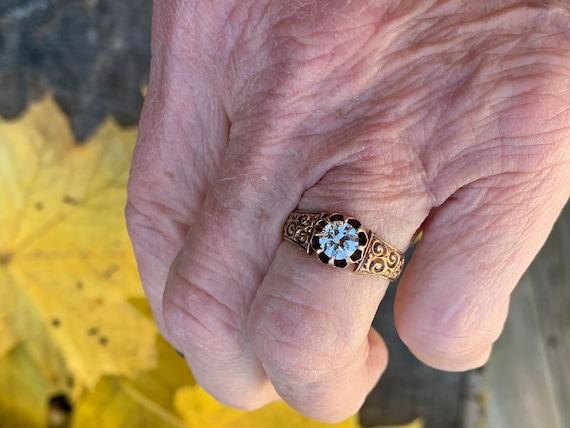 Victorian Engagement Ring Alternative Engagement … - image 10